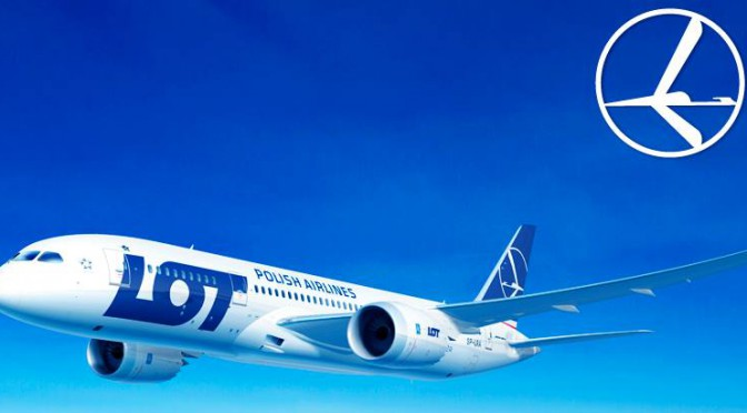 LOT Polish Airlines has allowed passengers to use electronic devices
