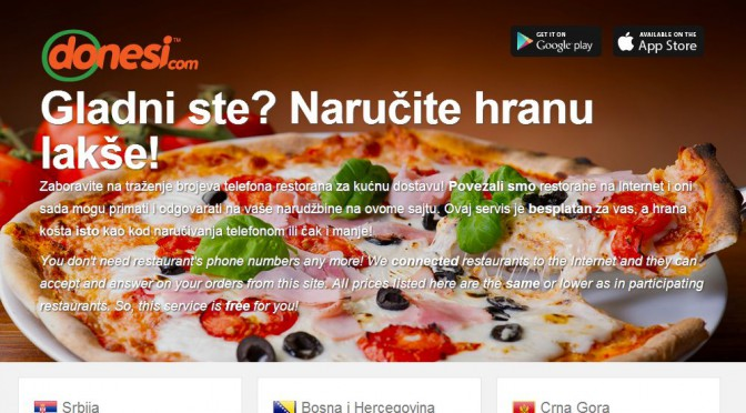 Foodpanda acquired leading Serbian online food delivery service Donesi.com