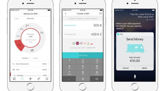 Startup bank N26 expands into 9 European countries