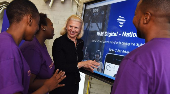IBM plans to train 25 million Africans at its IT academy